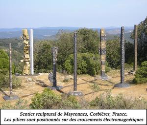 Sentier sculptural de Mayronnes