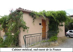 Un bâtiment dans le Sud Ouest de la France