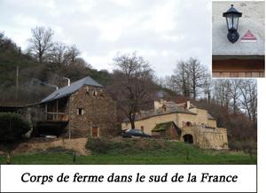 Corps de ferme du Sud de la France