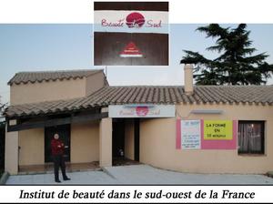 Institut de beauté dans le Sud-Ouest de la France
